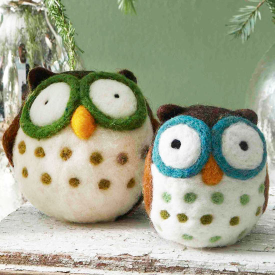 Make a Cozy Felted Owl