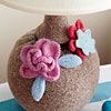 Felt Flower Lamp Embellishment