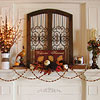 Welcoming Fall Mantel