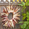 Sunburst Cornhusk Wreath