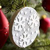 Snowflake Felt Ornament