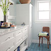 Vanity with Multipurpose Storage