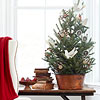 Rustic Tabletop Christmas Tree
