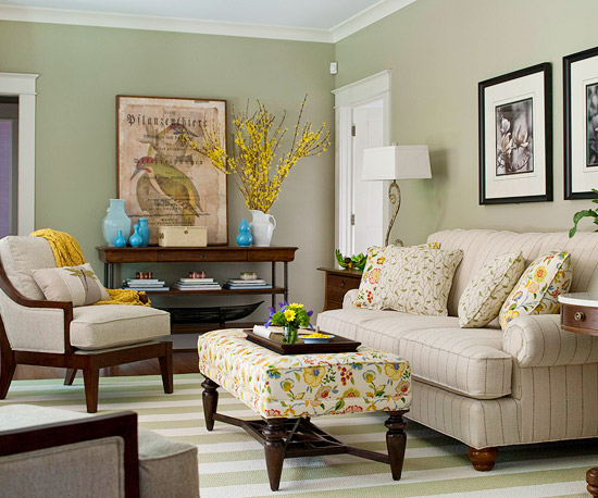 Light Colored Living Rooms Decorating With Color  Better Homes And Gardens  Bhg