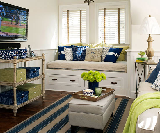 No-Fail Family Room Arranging Trick