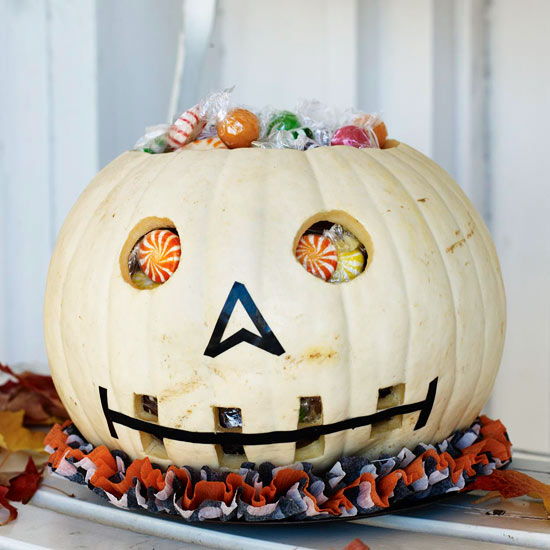 Haunting Halloween Crafts with Skeletons and Tombstones
