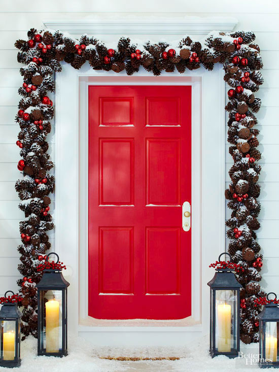 Dazzling Winter Doors That Welcome the Season