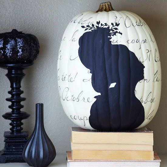 spellbinding black and white halloween decorations from better homes gardens