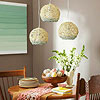 Twine-Wrapped Pendant Light