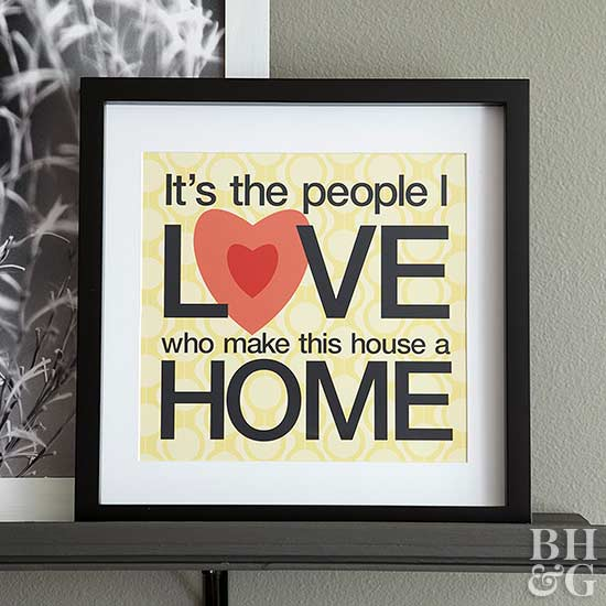 DIY Love-Home Artwork Download