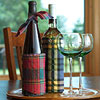 Flannel Wine Sleeve