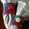 Cozy Flannel Napkin Rings