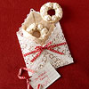 Festive Doily Envelope