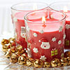 Santa Votive Candles