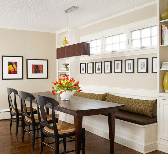 dining room banquette. Black Bedroom Furniture Sets. Home Design Ideas