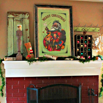 Real-Home Mantel Decorating Ideas