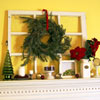 Classic Red and Green Christmas Mantel