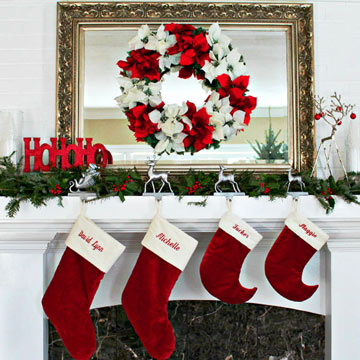 More Christmas Mantel in photo 3429864-1
