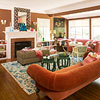 Living Room Color Scheme: Modern Parlor