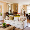 Living Room Color Scheme: Warm Traditional