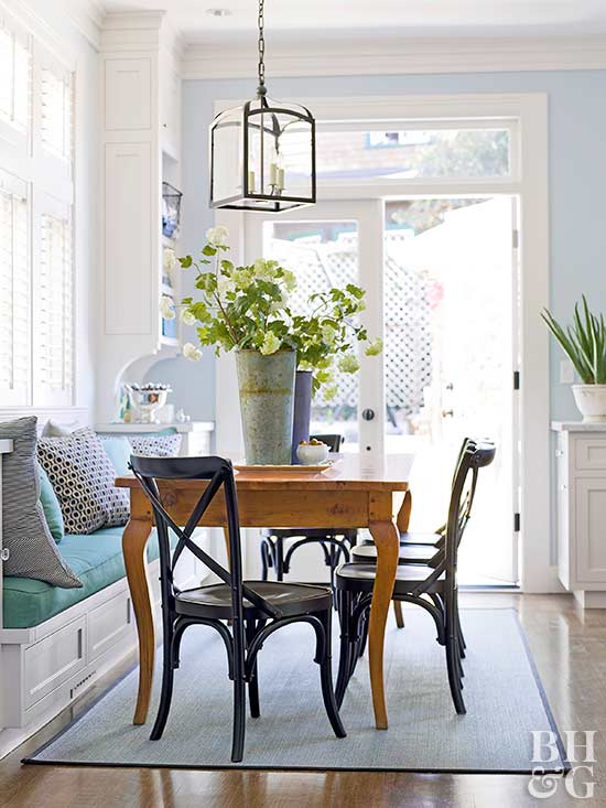 Kitchen Table With Built In Bench built-in banquette ideas
