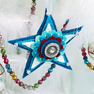 Christmas Star Ornaments from Better Homes and Gardens