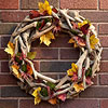 Leaf-and-Berry Fall Wreath