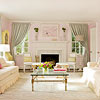 Living Room Color Scheme: Ladylike Elegance