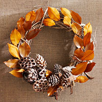 Wreaths for the Fall Season
