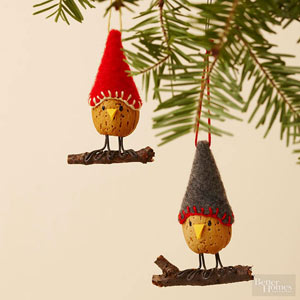 http://www.bhg.com/christmas/ornaments/make-an-almond-bird-christmas-ornament/