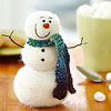 Felted Frosty the Snowman Craft