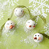 Happy Snowmen Faces Garland