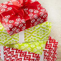 FREE! Patterned Wrapping Paper
