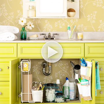 Video: Undersink Storage Tips