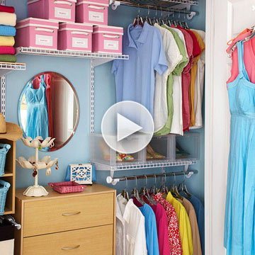 Tips for Sharing a Closet
