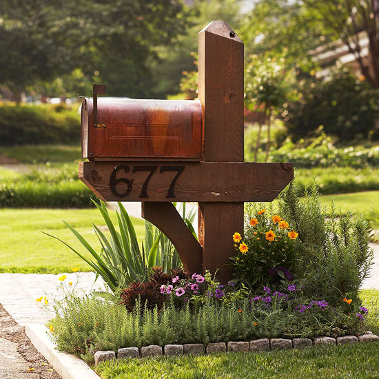 Landscaping Ideas For The Front Yard: Front Yard Mailbox Gardens