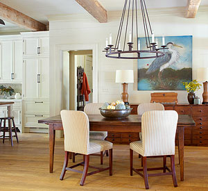 How to decor dining room