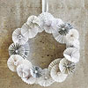 Use Paper to Make a Whimsical Christmas Wreath