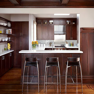 Great A Contemporary Small Kitchen Makeover
