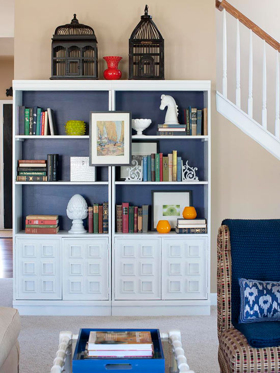 Clever Ways to Store Books