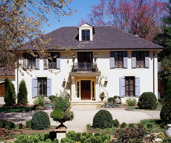 Country french style home ideas for French country style house