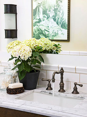 replace old sink faucet