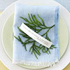Fern and Quote Place Setting