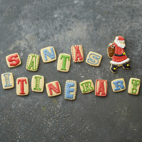 Santa's Messages Sugar Cookies
