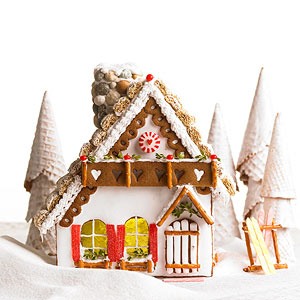 Gingerbread Mountain Chalet
