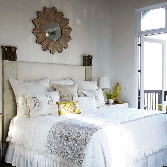 Bedroom Colors And Textures bedroom color ideas: white bedrooms
