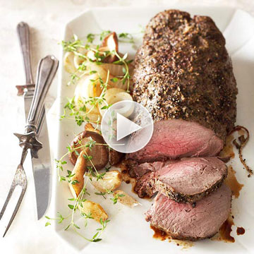 How to Roast Beef Tenderloin
