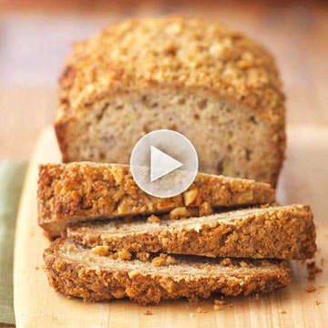 Watch: How to Bake Banana Bread