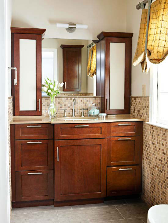 15 bathroom window treatment ideas