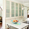 Frosted-Glass Cabinet Doors